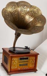 Граммофон, ретропроигрыватель